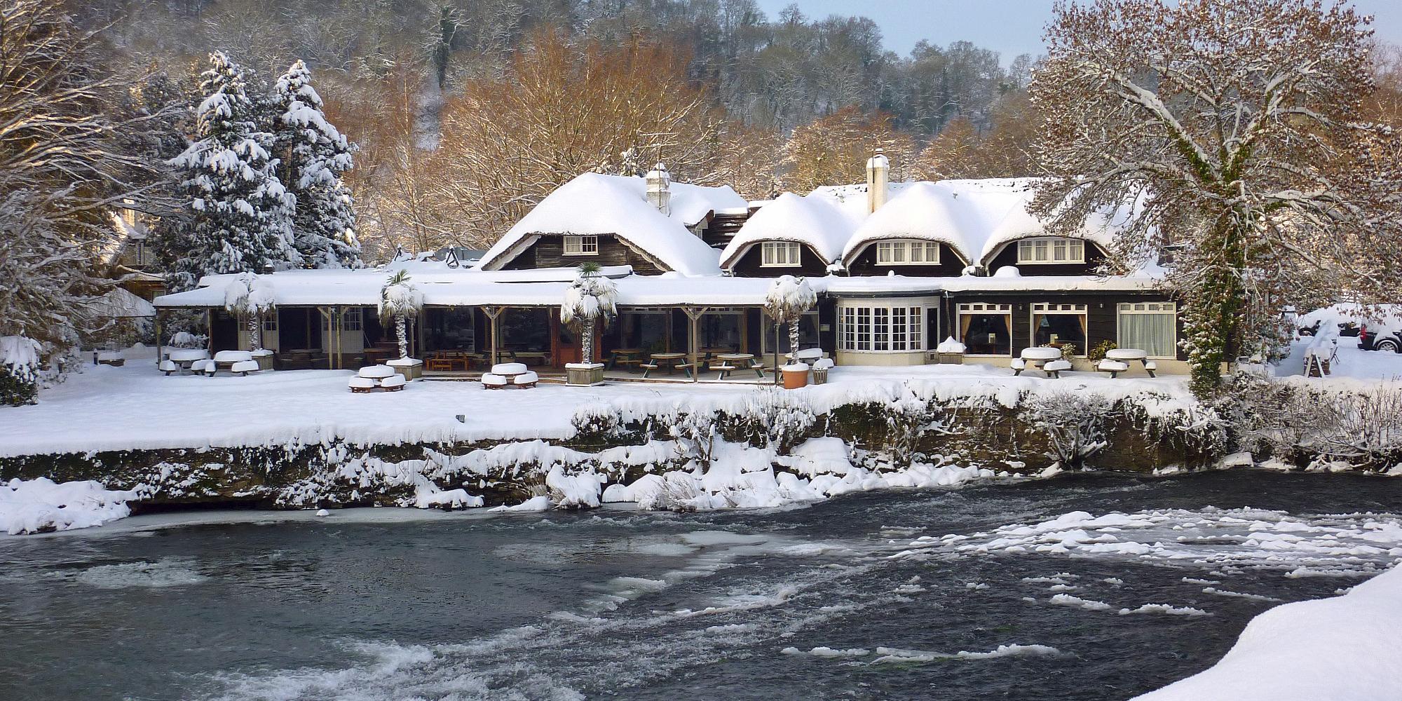 Fisherman's Cot in winter