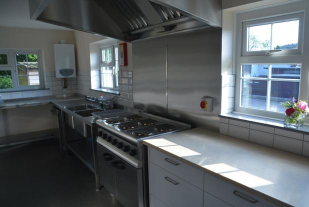 Bickleigh Village Hall Kitchen